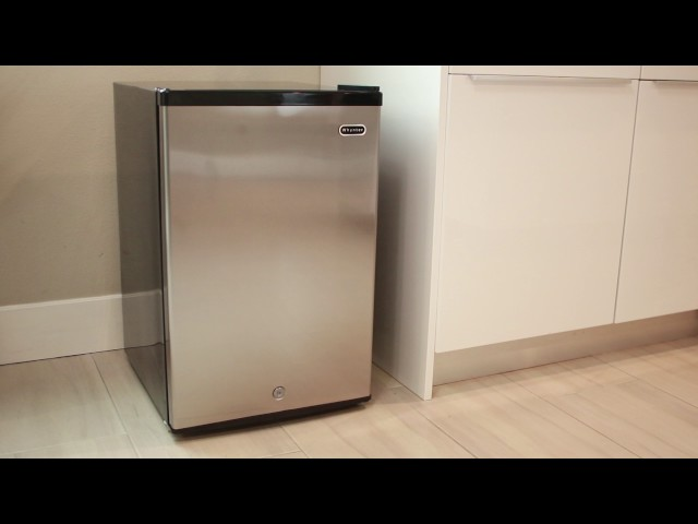 Whynter Energy Star Upright Freezer Featuring Model CUF-210SS