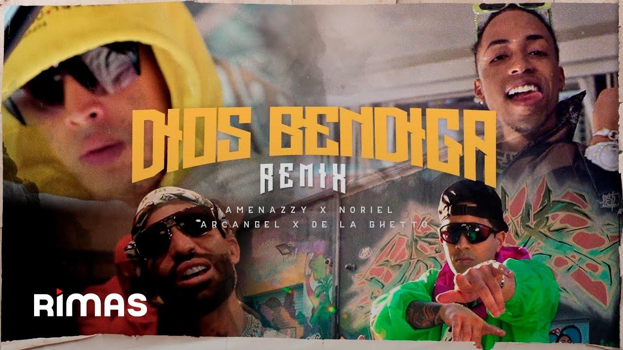Dios Bendiga Remix - Amenazzy X Noriel X Arcangel X De La Ghetto ( Video Oficial ) #1
