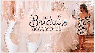 My Wedding Day Accessories! Bridal accessories | Emelyne