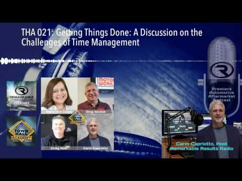 THA 021: Getting Things Done: A Discussion on the Challenges of Time Management