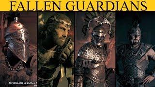 AC Odyssey The Fate Of Atlantis: The Underworld's Fallen Guardians - All Fallen Guardian Locations