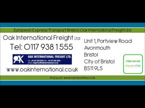 European Express Transport Bristol | Oak International Freight