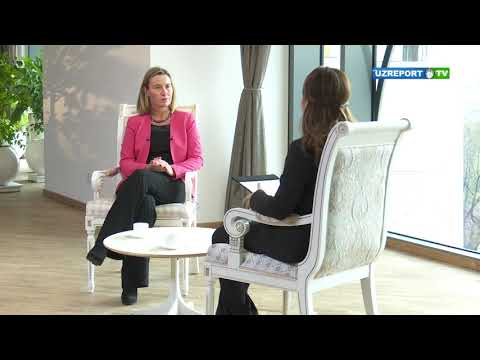 Federica Mogherini on peace in Afghanistan: EU and Uzbekistan are fully together in these efforts