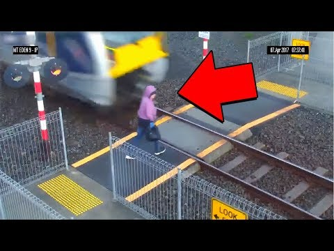 Woman forgets to look both ways when crossing the road... (ALWAYS LOOK BOTH WAYS)