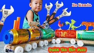 Train for Kids - Tàu lửa đồ chơi, Chế Đoàn tàu Khủng Long