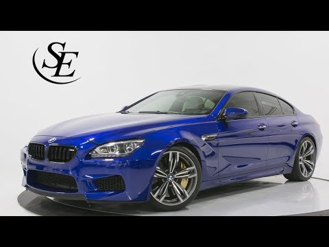 2015 BMW M6 GRAN COUPE COMPETITION - Pompano Beach Used Car Dealership