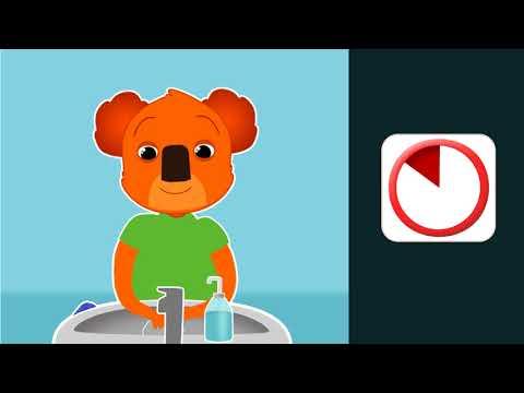 Thumbnail Lave-toi le visage avec Ben le koala - Main gauche