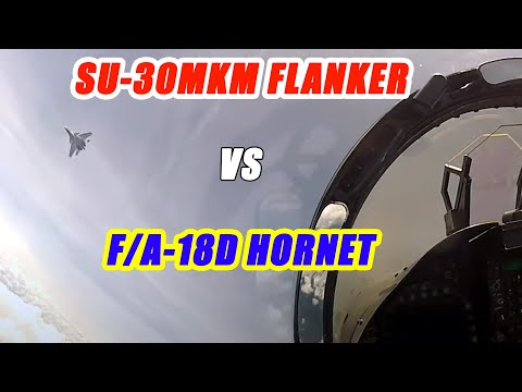 F/A-18 vs SU-30MKM! Fighter Pilot Breaks Down What It's Like to Fight the Flanker with the Hornet