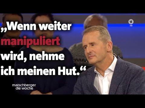 Ist Die Autoindustrie Noch Zu Retten? VW-Chef Herbert Diess Bei Maischberger. Die Woche (18.12.19)