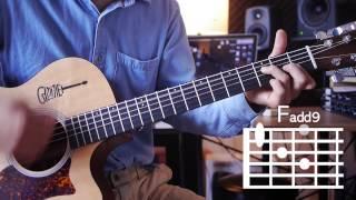 [어썸기타/ASOMEGUITAR] Falling Slowly - Once OST 기타강좌/Guitar tutorial 난이도/Level ★ ★ ☆ ☆ ☆