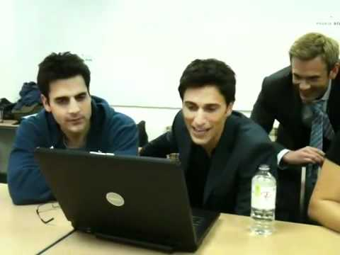 Cast of Rookie Blue live chat with abc