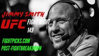 UFC post-fight for Fight Night 149: Overeem vs Oleynik