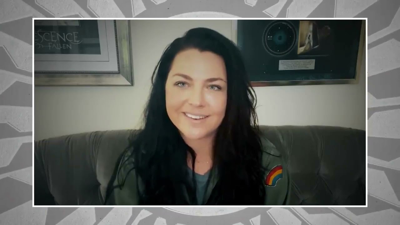 """AMY LEE SHARES WHAT JOHN LENNON'S """"IMAGINE"""" MEANS TO HER (AXS TV)"""