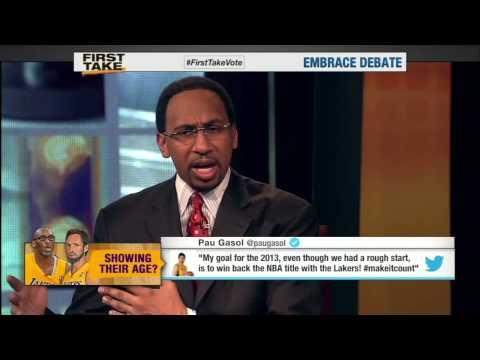 Classic Stephen A Smith On Kobe Bryant