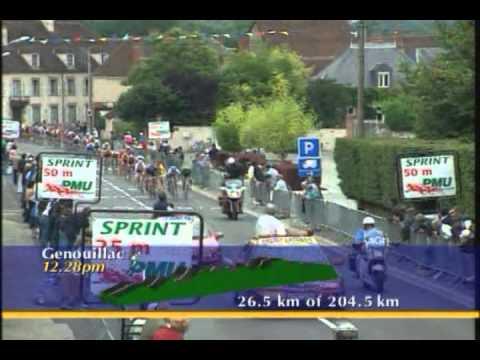 Cycling Tour de France 1998 Part 1