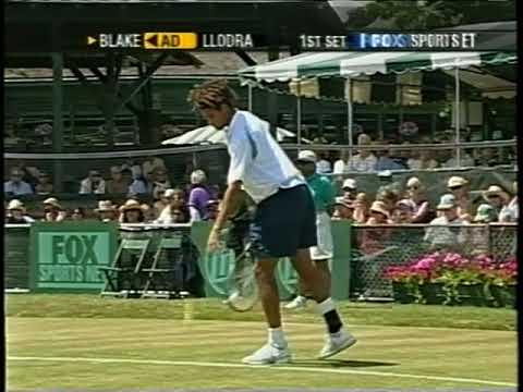 ATP 2002 Newport Blake vs Llodra