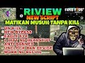 RIVIEW NEW SCRIPT FREE FIRE HACK/CHEAT, 1HITT NO HEADSHOT, MATIKAN MSUH TANPA KILL, ANTI BANNED 100%