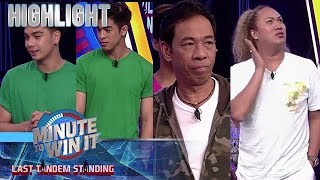 Eris, Jin, Long at Negi, sinubukang labanan ang tuksong hatid ni Myra | Minute To Win It