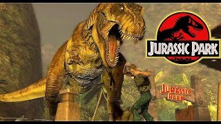 Jurassic Park- Final T-Rex Showdown!