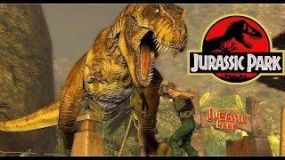 Jurassic Park- Final T-Rex Showdown!