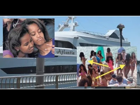 BREAKING! OBAMA GIRLS IN TEARS AS FEDERAL MARSHALS SEIZE THEIR TAXPAYER FUNDED PARTY YACHT!