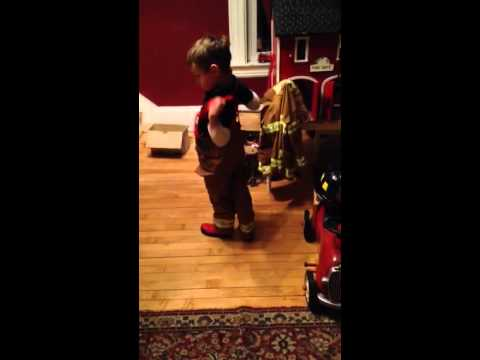 We've got a call! 911 firefighters