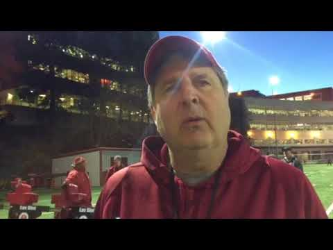 Mike Leach post practice 11-16