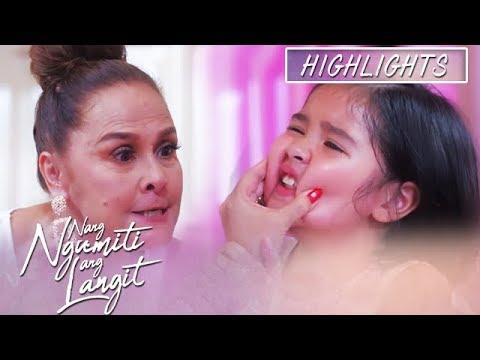 Divina scolds Mikmik for trying to escape   Nang Ngumiti Ang Langit