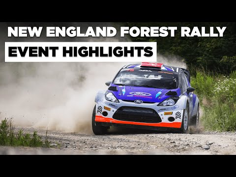 New England Forest Rally 2021 - Crashes, Close Calls, and Catastrophe