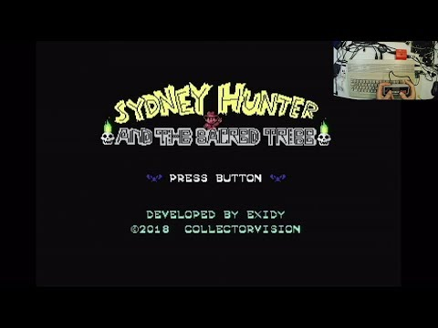 C64 Game - Sydney Hunter and the sacred tribe - Real C64 - 50 FPS