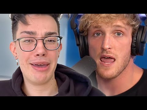 Logan Paul Reacts To James Charles & Tati Bye Sister Drama
