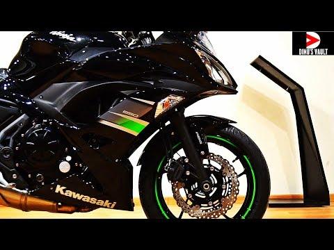 2019 Kawasaki Ninja 650 Black Unboxing Walkaround #Bikes@Dinos