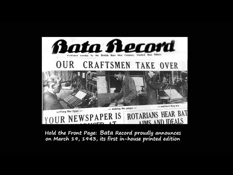 The Old Chron: The weekly Bata Record newspaper covered Bata-ville