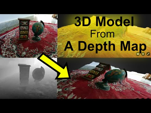 3d Models from a Google Camera Depth Map - YouTube