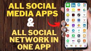 All Social Media App And Social Network In On App ! Latest 2021 App ! All In One App screenshot 4