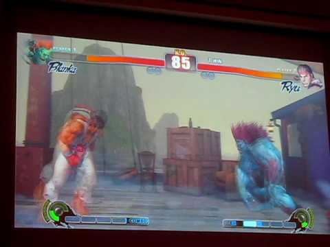 Capcom Street Fighter IV UK Championship 4th Quarter Finals - Rob Archer Vs Tu Nguyen