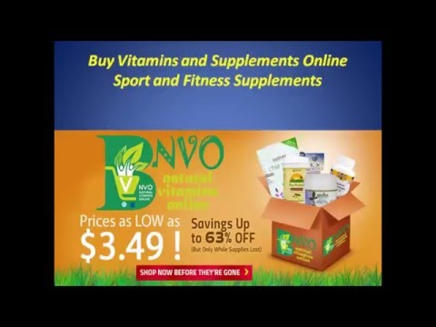 Buy Vitamins and Supplements |NVO Online Store