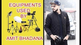 Amit Bhadana -Dosti camera, mic ,light Tools & Equipments-Amit Bhadana