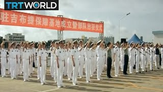 China's base in Djibouti