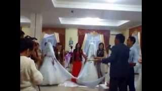 Свадьба моих сыновей в Актобе. Двойной Беташар. Видео со смартфона Аюны