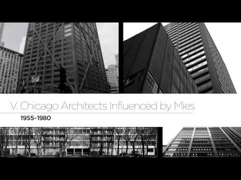 75 Years of Mies van der Rohe and His Chicago School