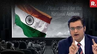 #MyAnthemMyPride - Why Not Show Pride In National Anthem? | The Debate With Arnab Goswami