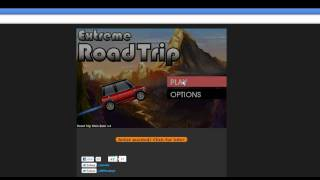 Extreme Road Trip in Web Browser (GAMEPLAY)