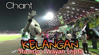 Ayo Goyang Bli..!! Zoro Pimpin Chant Kelangan Bonek di Tribun Sayap Utara Stadion Dipta Bali
