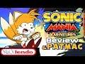 Sonic Mania Adventures + Merchandise Review & PatMac