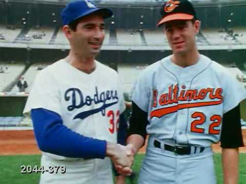 Sandy Koufax and Jim Palmer