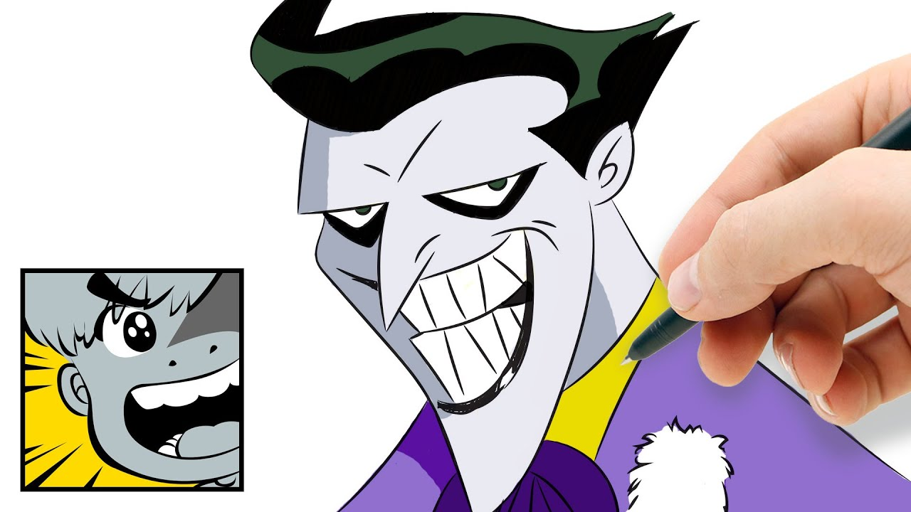 How to draw joker youtube - Comment dessiner joker ...