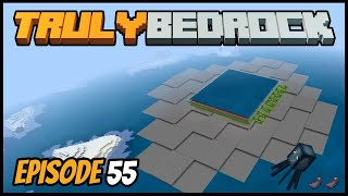 Ocean Squid Farming & Getting Pranked! - Truly Bedrock (Minecraft Survival Let's Play) Episode 55