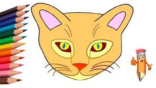 Как нарисовать кота #draw #cat