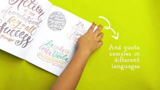 What's Inside Hand Lettering A to Z Book?